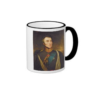 Portrait of Arthur Wellesley Ringer Coffee Mug