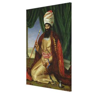 Portrait of Asker-Khan, Ambassador of Persia Canvas Print