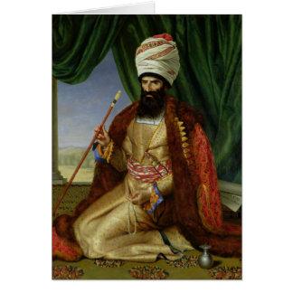 Portrait of Asker-Khan, Ambassador of Persia Card
