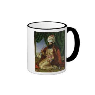 Portrait of Asker-Khan, Ambassador of Persia Ringer Coffee Mug