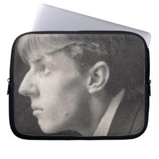 Portrait of Aubrey Beardsley (1872-98) by Frederic Laptop Sleeves