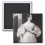 Portrait of Augusta Ada Byron Magnet