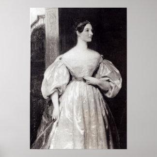 Portrait of Augusta Ada Byron Print