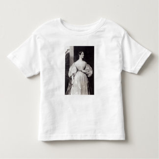 Portrait of Augusta Ada Byron Toddler T-shirt