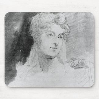 Portrait of Augusta Leigh Mouse Pad