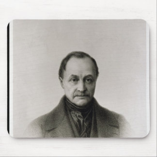 Portrait of Auguste Comte , French philosopher Mouse Pad