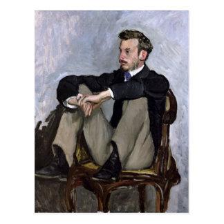 Portrait of Auguste Renoir , 1867 Postcard