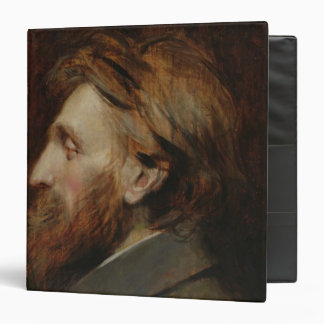 Portrait of Auguste Rodin  1881 3 Ring Binder