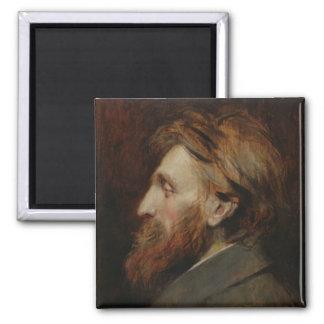 Portrait of Auguste Rodin  1881 Magnet