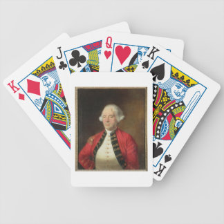 Portrait of Augustin Prevost (1723-86) in Uniform Bicycle Playing Cards