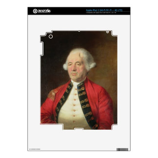 Portrait of Augustin Prevost (1723-86) in Uniform iPad 3 Skin