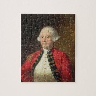 Portrait of Augustin Prevost (1723-86) in Uniform Jigsaw Puzzle