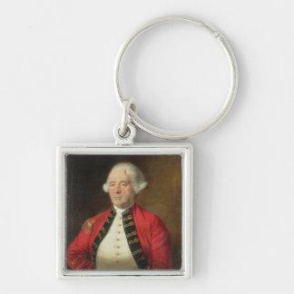 Portrait of Augustin Prevost (1723-86) in Uniform Key Chains