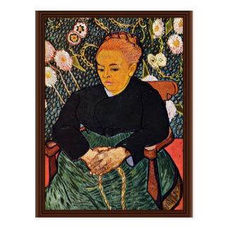 Portrait Of Augustine Roulin (La Berceuse) Post Cards