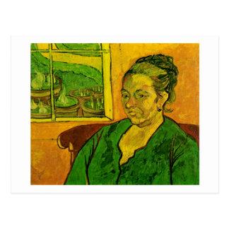 Portrait of Augustine Roulin, Van Gogh Fine Art Postcard