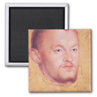 Portrait of Augustus I  Elector of Saxony Fridge Magnet