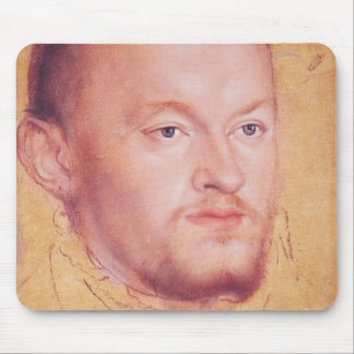 Portrait of Augustus I  Elector of Saxony Mouse Pad