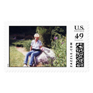 Portrait of Aunt Marianne Postage Stamps