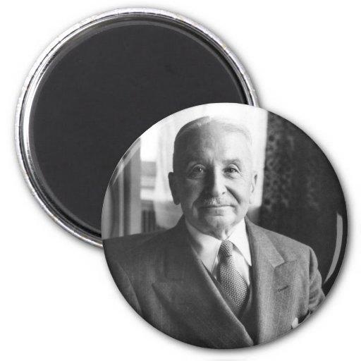 Portrait of Austrian Economist Ludwig Von Mises Refrigerator Magnet