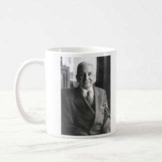 Portrait of Austrian Economist Ludwig Von Mises Classic White Coffee Mug