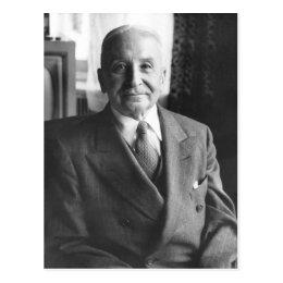 Portrait of Austrian Economist Ludwig Von Mises Postcard