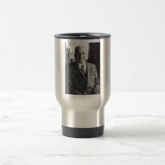 Portrait of Austrian Economist Ludwig Von Mises Travel Mug