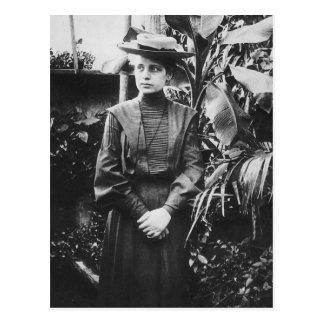 Portrait of Austrian physicist Lise Meitner Postcard