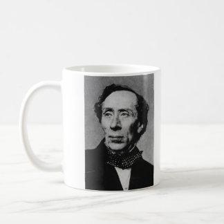 Portrait of Author Hans Christian Andersen Coffee Mugs