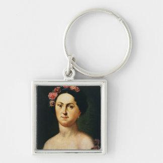 Portrait of Avdotia Istomina, 1830s Keychain