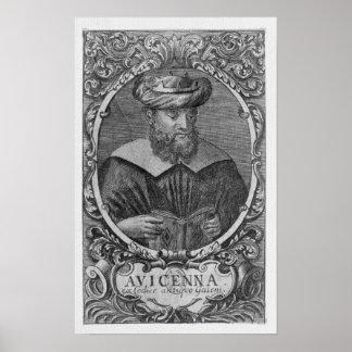 Portrait of Avicenna   Reading Poster