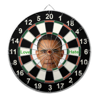 Portrait of Barack Obama Dartboards