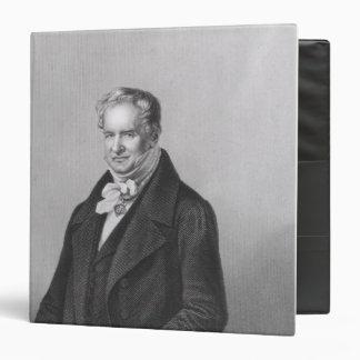 Portrait of Baron Alexander von Humboldt Binders