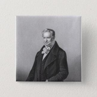 Portrait of Baron Alexander von Humboldt Pinback Button