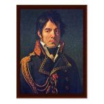 Portrait Of Baron Dominique Jean Larrey Postcard