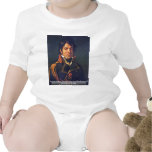 Portrait Of Baron Dominique Jean Larrey Baby Creeper