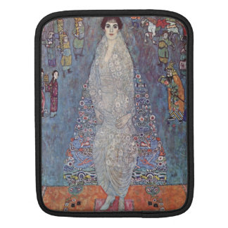 Portrait of Baroness Elisabeth Bachofen by Klimt Sleeves For iPads