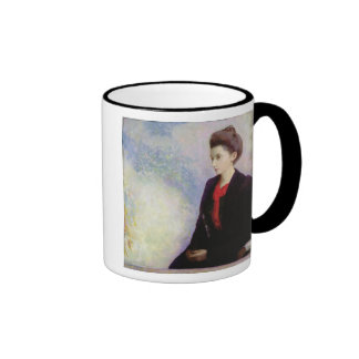 Portrait of Baroness Robert de Domecy, 1900 Ringer Mug