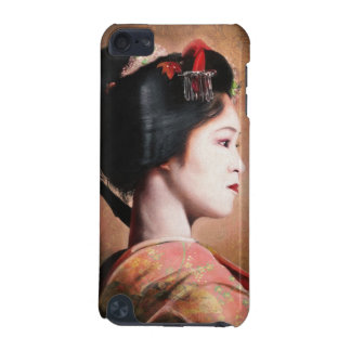 Portrait of beautiful Geisha digital painting iPod Touch 5G Cases