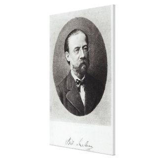Portrait of Bedrich Smetana Canvas Print