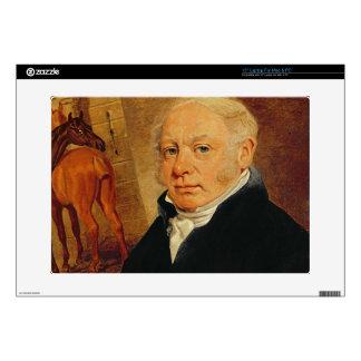 """Portrait of Ben Marshall (1767-1835) (oil on canva Skin For 15"""" Laptop"""
