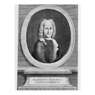 Portrait of Benedetto Marcello Postcard