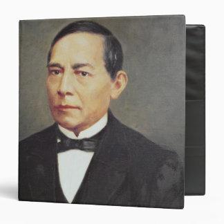Portrait of Benito Juarez , 1948 Binder