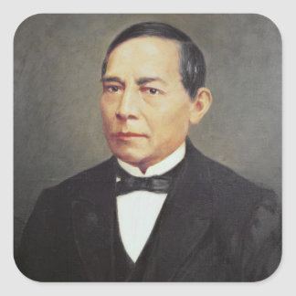 Portrait of Benito Juarez , 1948 Sticker