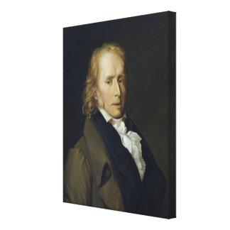 Portrait of Benjamin Constant de Rebecque Gallery Wrap Canvas
