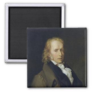 Portrait of Benjamin Constant de Rebecque Magnet