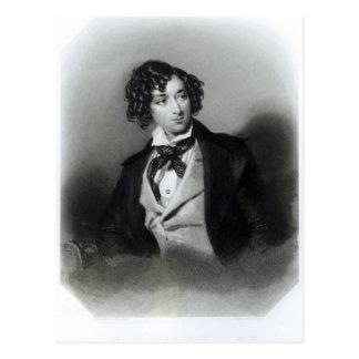 Portrait of Benjamin Disraeli Esquire  M.P. Postcard