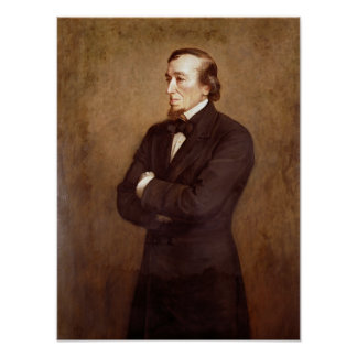 Portrait of Benjamin Disraeli Poster