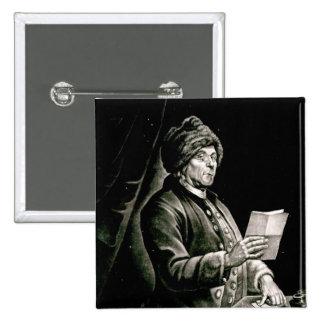 Portrait of Benjamin Franklin, 1777 Pinback Button
