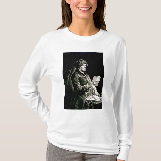 Portrait of Benjamin Franklin, 1777 T-Shirt
