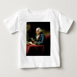 Portrait of Benjamin Franklin Baby T-Shirt